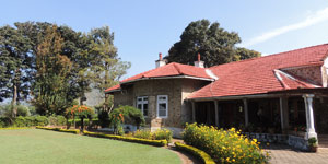 Accommodation in tea garden